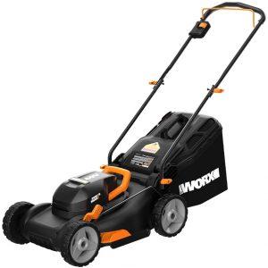 worx 17 inch 40v lawn mower
