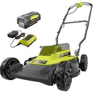 ryobi 40v 18in push mower