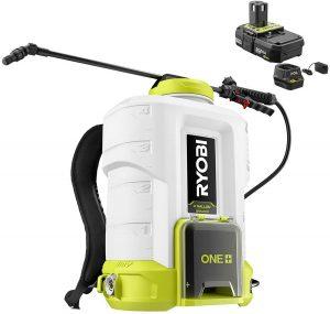 ryobi 4 gallon 18v backpack chemical sprayer