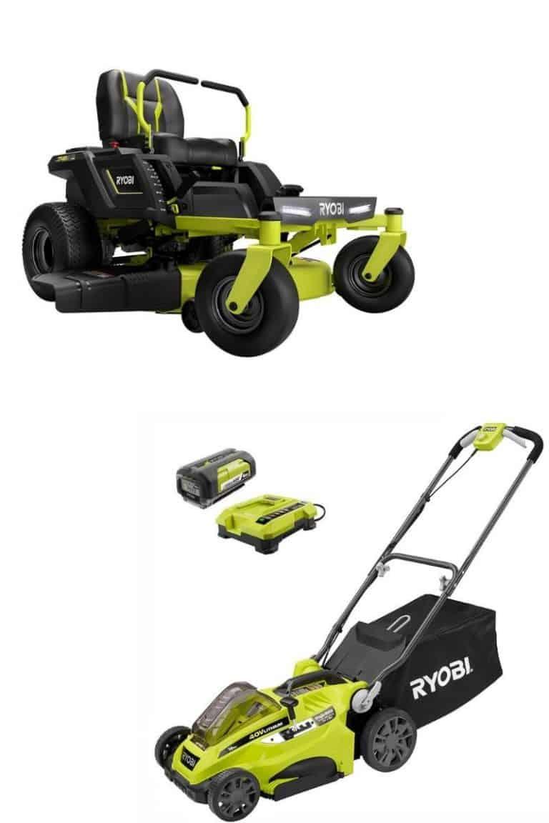 are ryobi battery lawn mowers any good