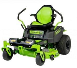 greenworks 82v 42-inch zero turn mower