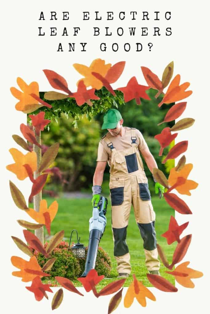 are electric leaf blowers any good