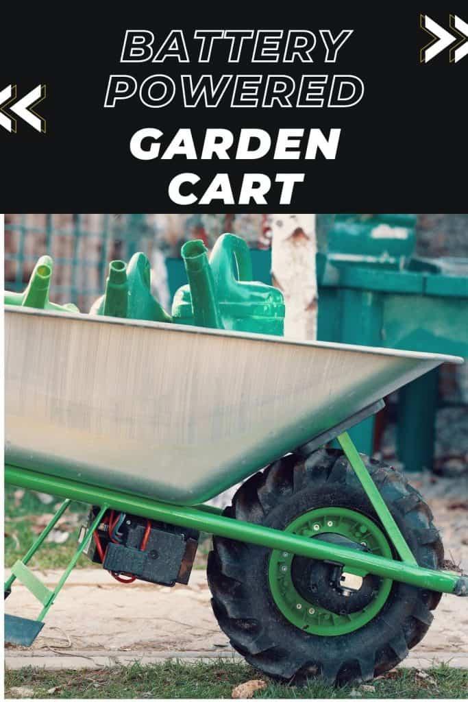 battery powered garden cart